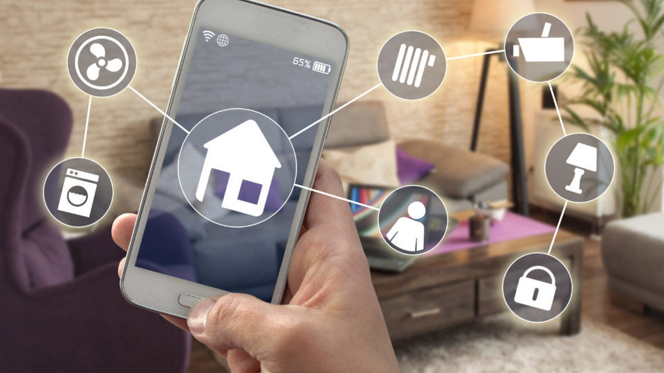 Smarthome Smartphone Hausautomatioon Smart home